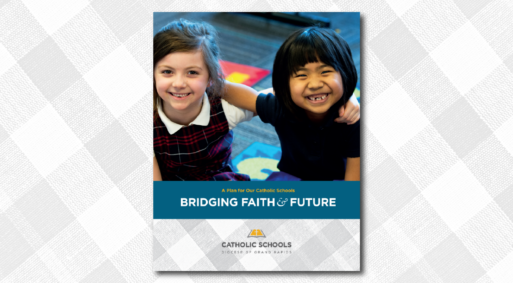 "Cover of the ""Catholic Schools: Bridging Faith and Future"" summary."