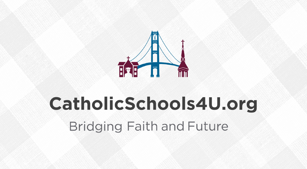 "A screenshot from our video about the ""Catholic Schools: Bridging Faith and Future"" strategic plan."