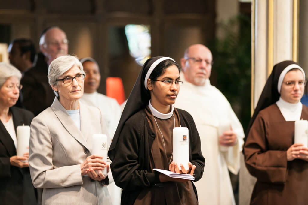 Prayer service at the cathedral for the Year of Consecrated Life by Eric Tank