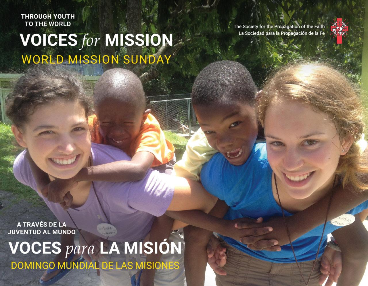 World Mission Sunday 2018 poster image