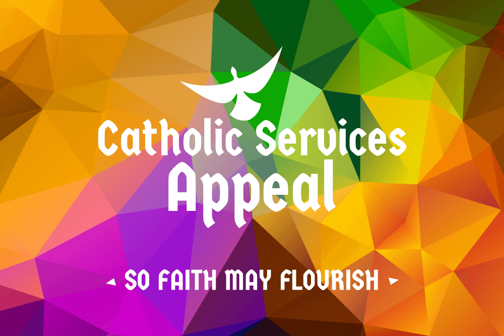 Catholic Services Appeal logo generic, no year