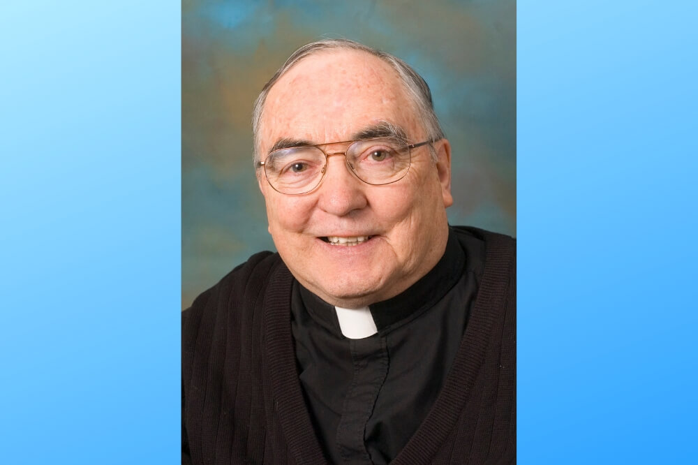 Headshot of Father Tom McKinney, now deceased
