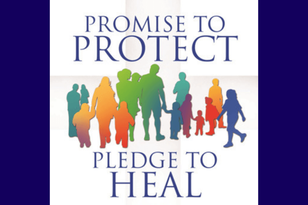 USCCB's Promise to Protect, Pledge to Heal logo