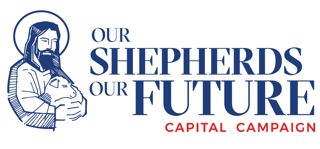 Campaign logo for Our Shepherds - Our Future