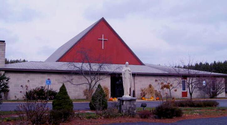 Sacred Heart Parish, Evart