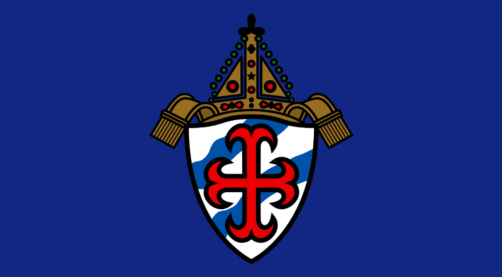 Diocesan coat of arms, no text for use with web posts
