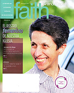 Cover image, Spanish edition of July/August 2019 FAITH GR featuring Sister Triny