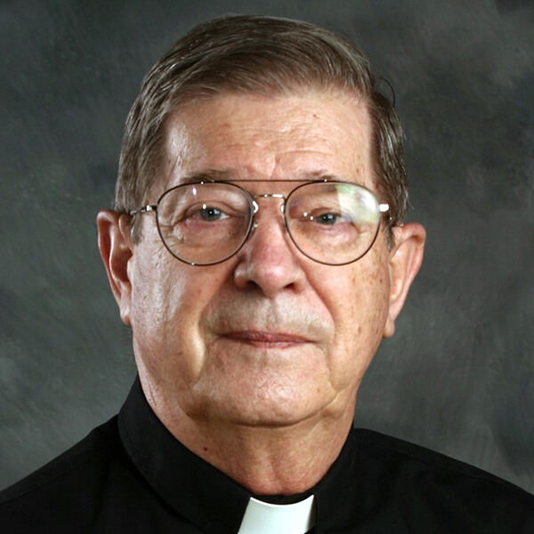 Father Joseph Butz, C.Ss.R, senior priest in residence at St. Alphonsus, GR