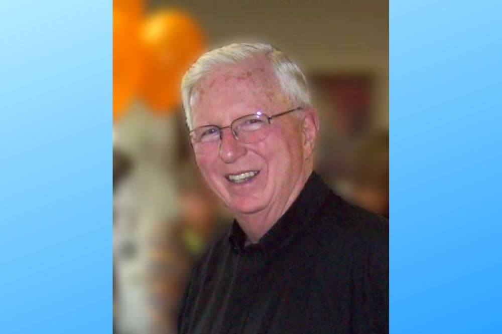 Courtesy photo of Msgr. Murphy used with his funeral arrangements webpage