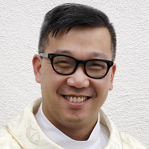Father Chung Tran, C.Ss.R, parochial vicar, St. Alphonsus, GR