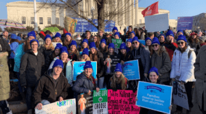 March for Life 2019, Holy Family Parish youth, Caledonia