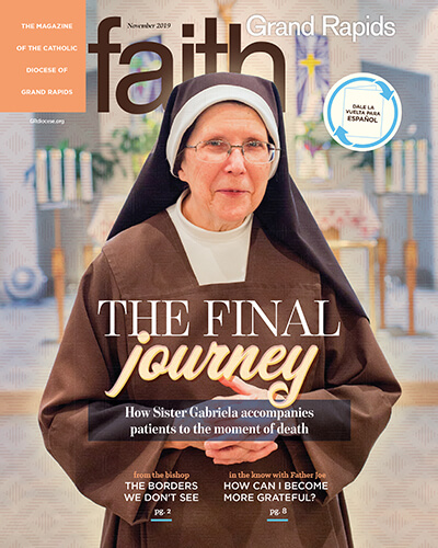 November 2019 FAITH GR cover for website main page