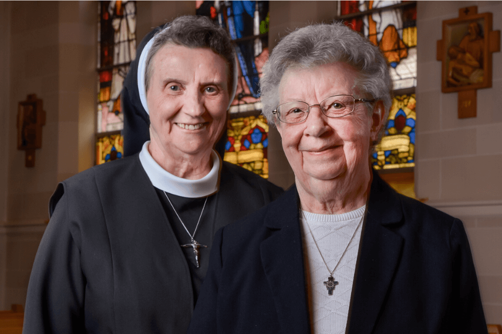 Two elderly religious sisters - Retirement Fund for Religious featured web image