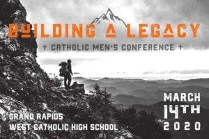 Building a Legacy/KEPHA Catholic Men's Conference 2020 logo