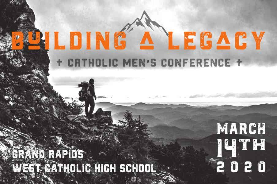Building a Legacy/KEPHA Catholic Men's Conference 2020 logo