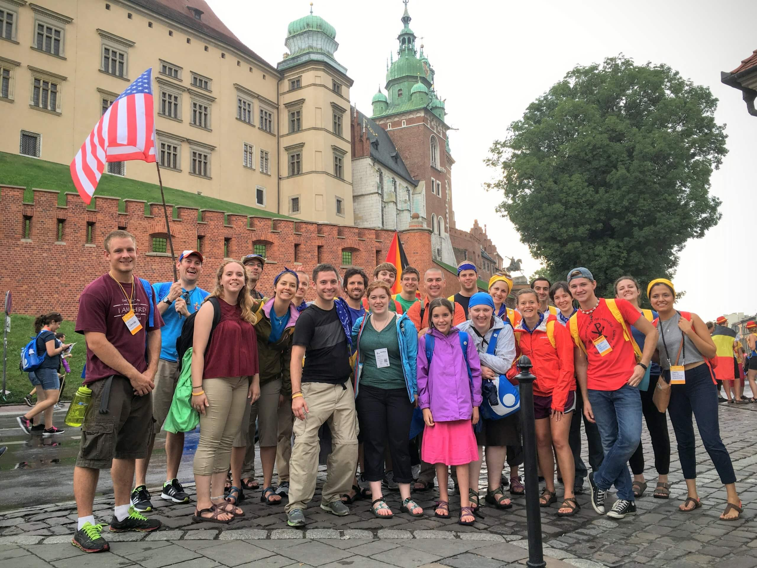 Diocesan contingent at World Youth Day Poland, summer 2016