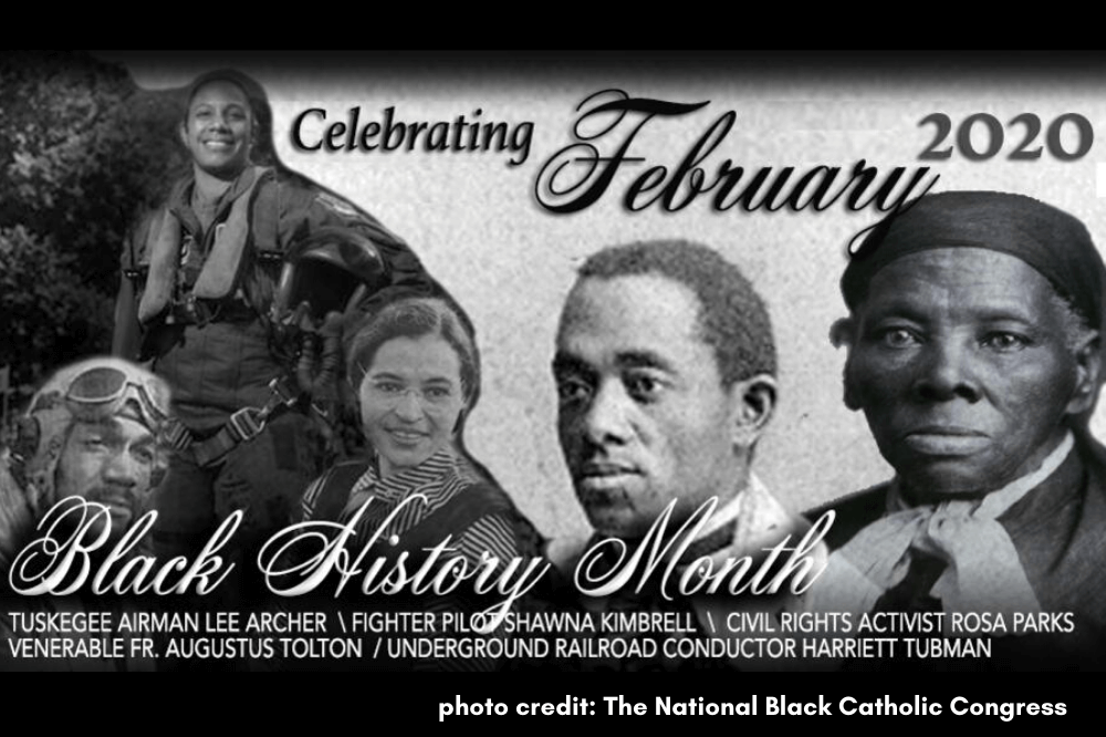 Black History Month image, The National Black Catholic Congress
