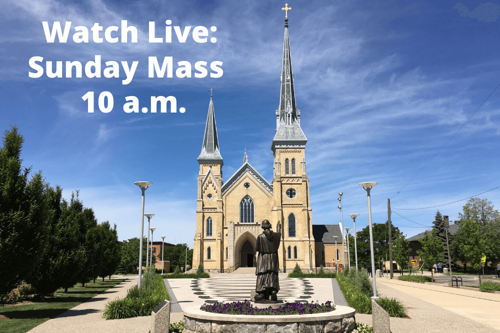 Watch Live Sunday Mass graphic