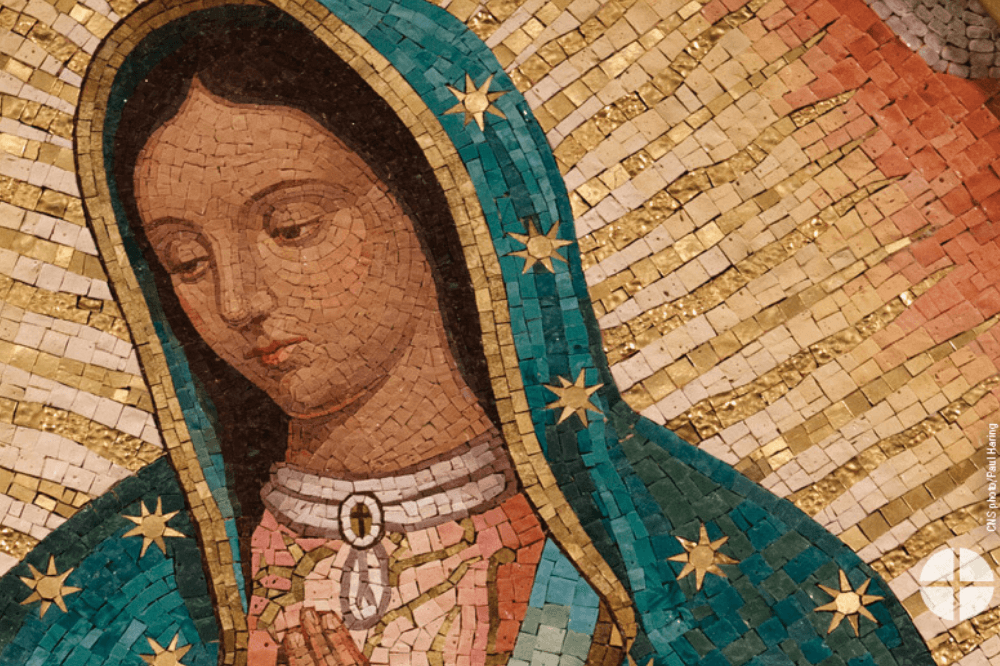 Image of Our Lady of Guadalupe, CNS, Paul Haring