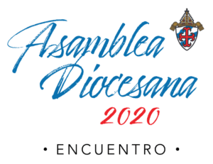 Diocesan Assembly 2020: Encounter logo in Spanish