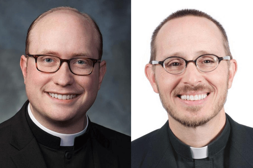 Father Ayers and Father Cavera, pastoral appointments Aug. 2020