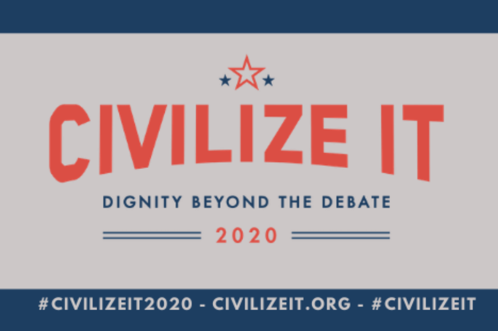 Civilize It logo, Dignity beyond the debate
